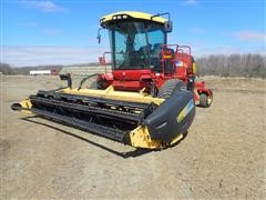 2008 New Holland H8040 Self-Propelled Windrower