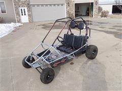 Manco 606B-19 Silver Fox GFX 2-Seater Go-Cart