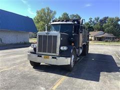 1981 Peterbilt 359 T/A Dump Truck