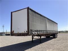 2001 Nu Van 48' AR Curtain Side T/A Van Trailer
