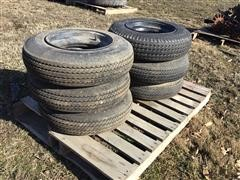 7-14.5 Mobile Home Tires & Rims