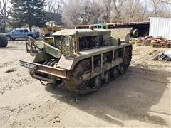 1942 Cletrac M2 US Army Tracked Tractor (INOPERABLE)