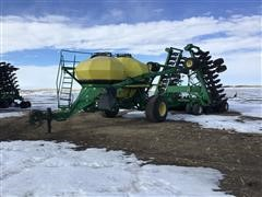 1998 John Deere 1860/1900 Air Drill W/Cart