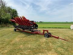 "2014 Geringhoff NS-800 8R22"" Corn Header W/Cart"