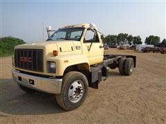 2000 GMC C7500 T/A Cab & Chassis Truck