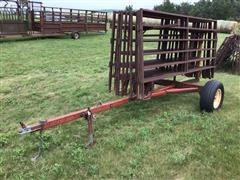 10' Steel Interlocking Livestock Fence Panels W/Trailer