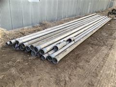 """Aluminum 5"""" Main Line Irrigation Pipe"""