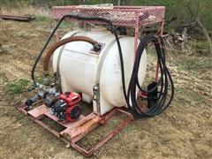 200-Gal Poly Tank W/Motor & Pump System