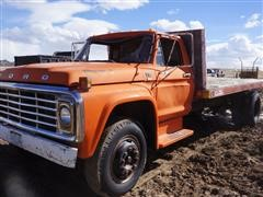 1979 Ford F700 S/A Flatbed Truck (INOPERABLE)