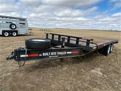 2007 Sport T/A Flatbed Trailer