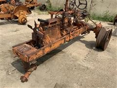 1936 Allis-Chalmers WC 2WD Antique Tractor Chassis & Parts