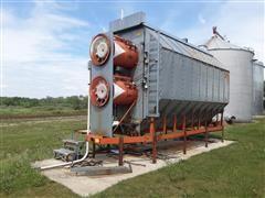 Farm Fans CFS A410-3C-220V-LP Grain Dryer W/Stands