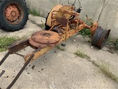 1937 Allis-Chalmers WC 2WD Antique Tractor Chassis & Parts