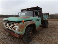 1966 Ford F600 S/A Dump Truck (INOPERABLE)