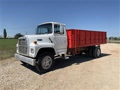 1997 Ford L8000 S/A Grain Truck