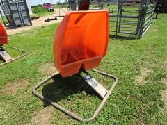 2014 Sioux Steel Poly Swivel Dual Chambered Mineral Feeder
