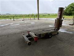Gray TSJ 55 Truck Air Scissor Lift