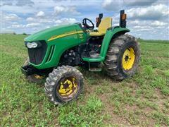 2012 John Deere 4120 MFWD Tractor