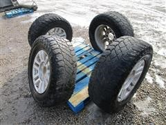 Cooper LT275/70R16 Tires On Ford Rims