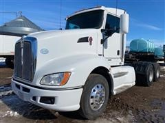 2009 Kenworth T600 T/A Day Cab Truck Tractor