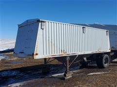 1990 Jet Hopper Grain Trailer