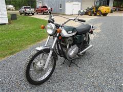 1971 BSA Thunderbolt A65T Motorcycle