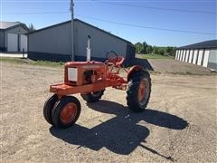 1939 Allis-Chalmers RC 2WD Tractor