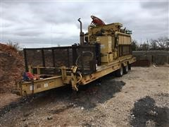 InRock Mud Mizzer 250 Mud System On 1998 Belshe T-10 T/A Trailer
