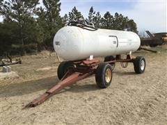Homemade 1000-Gal Fuel Trailer