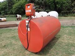 Gasboy 1820 Fuel Pump & 560-Gallon Tank