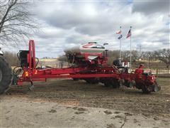 "2014 AGCO White MF 9812 12-Row 30"" Center-Fill Planter"