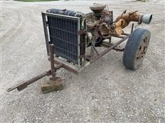 Chevrolet 292 Power Unit W/Pump On Cart