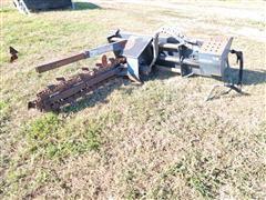 Melroe LT 204 4' Long Trencher Skid Steer Attachment