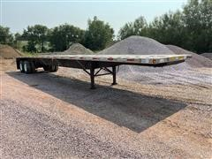 2004 Utility 48' T/A Flatbed Trailer