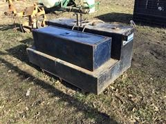 Double Fuel Tank & Toolbox