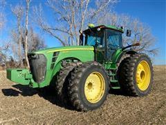 2008 John Deere 8530 MFWD Tractor