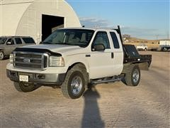 2006 Ford F250 Super Duty 4x4 Extended Cab Pickup