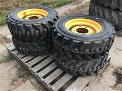 Gehl Skid Loader 10-16.5 Tires & Rims