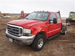 2002 Ford F350 4x4 Extended Cab Pickup (INOPERABLE)