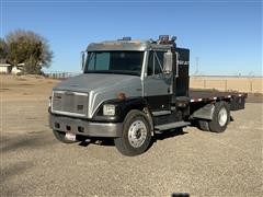 1995 Freightliner FL70 S/A Flatbed Truck