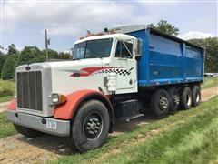 1988 Peterbilt 357 Quad/A Grain Truck