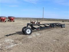 2017 Harvest Ag AH-632 T/A 30' 6-Wheel Header Trailer