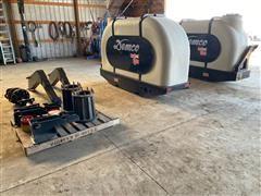 Demco Side Quest 1200 Saddle Tanks