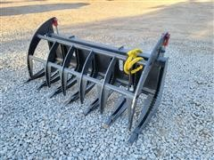 2021 Mid-State Brush Grapple Skid Steer Attachment