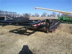 1980 Homemade T/A Combine Equipment Trailer