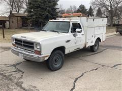 1990 Dodge 250 4x4 Service Truck