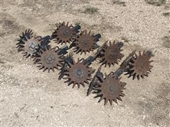 Yetter Spiked Row Cleaners/Trash Whippers & Mounts