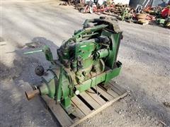 John Deere 3.4L Skid Mtd Diesel Power Unit (INOPERABLE)