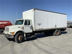 1996 International 4900 S/A 26' Box Truck