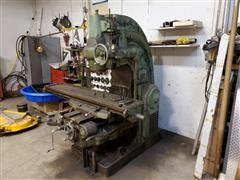 Milwaukee H No. 4 Vertical Milling Machine